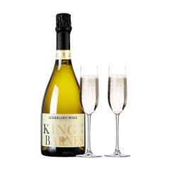 醉梦红酒 芭诺斯起泡葡萄酒香槟气泡甜葡萄酒送2香槟杯