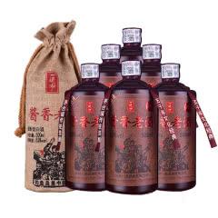 53°贵州茅台镇一道泓酱香老酒500ml(6瓶装)