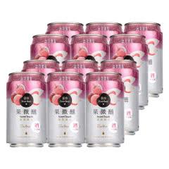 金牌 台湾啤酒荔枝味果啤330ml(12听装)