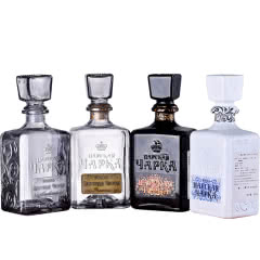 进口洋酒 俄罗斯沙皇伏特加鸡尾酒基酒 酒柜摆件4种口味组合装