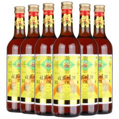 丰收 果酒甜酒 桂花陈酒葡萄酒 北京特产酒 桂花酒 750mL*6瓶 整箱