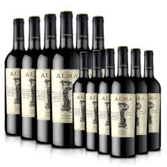 【买一得二】西班牙原瓶进口红酒奥玛干红葡萄酒750ml*6超值装