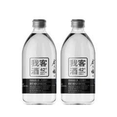42°金六福我客酒浓香型白酒490ml(2瓶装)
