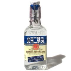 42°永丰牌北京二锅头出口型小方瓶蓝标红标绿标纯粮食清香白酒小酒200ml【包邮买5得6】