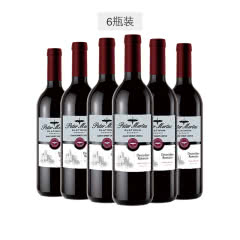 德国进口Peter Mertes 彼得美德 铂金系列 圣灵堡红葡萄酒 750ml*6瓶装