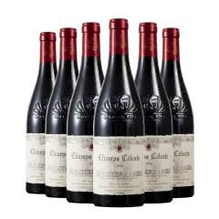 法国红酒原瓶进口天堂小镇地中海红葡萄酒750ml*6瓶整箱装