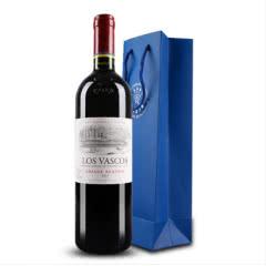 智利拉菲红酒 巴斯克特藏干红葡萄酒 原瓶正品行货750ml