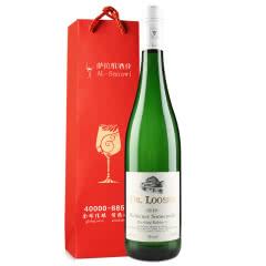 德国原瓶进口露森卫恩日冕园 甜型雷司令珍藏白葡萄酒  送酒杯+礼袋 750ml  单支