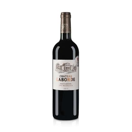 【随时随意波尔多】法国红酒法国(中级庄)拉贝德城堡干红葡萄酒750ml