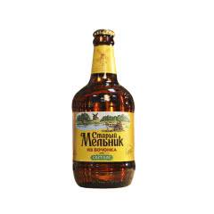 俄罗斯进口老米勒啤酒精酿黄啤酒玻璃瓶装深色烈性450ml*6瓶