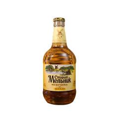 俄罗斯进口老米勒啤酒精酿黄啤酒l玻璃瓶装450ml*12【浅色淡爽12瓶】