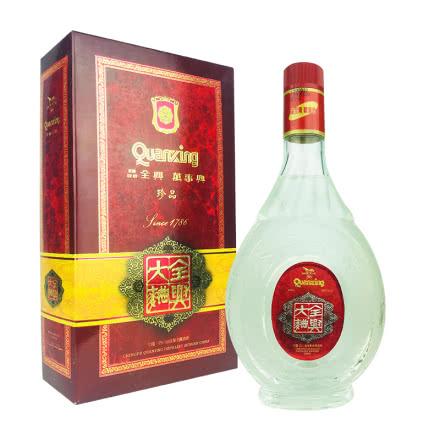 融汇老酒 52º全兴大曲酒 礼盒 500mlx1瓶(1999年)