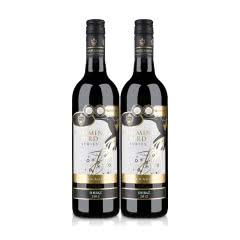 【清仓】澳大利亚布莱根哼鸣鸟西拉干红葡萄酒750ml(双瓶套)