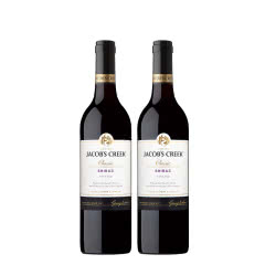 澳洲原瓶进口杰卡斯西拉加本纳干红葡萄酒750ml*2双支装