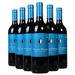 澳大利亚进口 小企鹅梅洛红葡萄酒 750ml*6整箱装