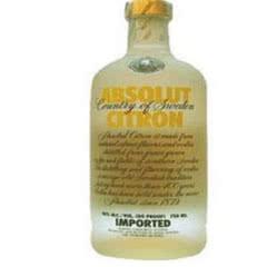 40°瑞典伏特加 绝对伏特加(Absolut Vodka) 柠檬味