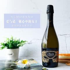 意大利原装进口 爱佳诺莫斯卡托起泡气泡葡萄酒 Moscat女士酒750ml