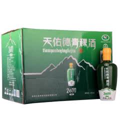 42°天佑德青稞酒海拔2600清香型白酒500ml*6