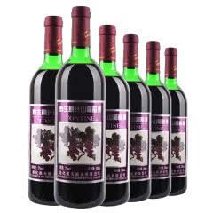8°通天野生原汁山葡萄酒720ml(6瓶装)