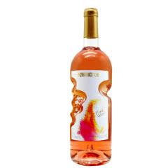 天使之手艺术瓶 高颜值红酒 低度甜型蜜鹿桃红葡萄酒750ml