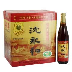 绍兴黄酒古越龙山沈永和花雕酒500ml*12瓶