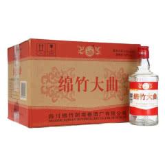 绵竹红标大曲52度 整箱装白酒 500ml*12瓶