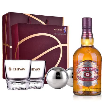 40°芝华士12年苏格兰威士忌700ml礼盒装