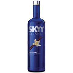 35°深蓝伏特加SKYY口味系列香草口味美国原瓶进口750ml