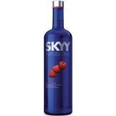 35°深蓝伏特加SKYY口味系列莓子口味美国原瓶进口750ml