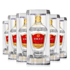 52° 五粮液股份 富贵天下绵柔级 浓香型白酒  500ml*6瓶(整箱)