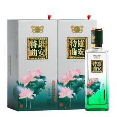 52°百年保定雄安特曲酒·荷塘500mL(双瓶装)