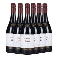 13.5°智利干露红魔鬼黑皮诺红葡萄酒750ml(6瓶装)
