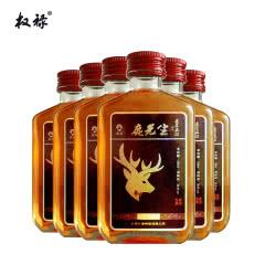 38°权禄鹿先生梅花鹿人参鹿茸血酒100ml(6瓶装)