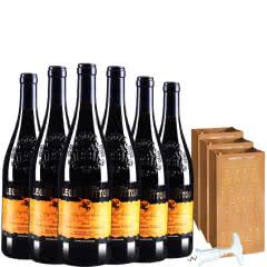 朗格巴顿赤霞珠干红葡萄酒送礼袋送开瓶器750ml*6(整箱装)
