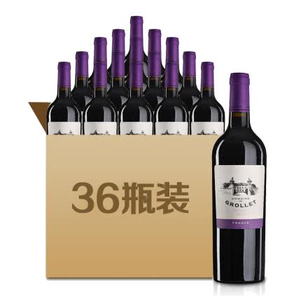 法国格乐蕾干红葡萄酒2014年珍藏版750ml*36