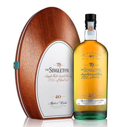40°苏格登40年单一麦芽威士忌700ml