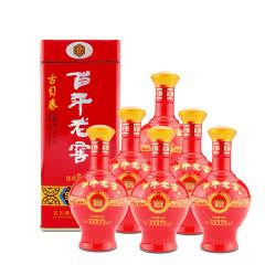 38°古贝春百年老窖全家福 浓香型白酒 500ml*6瓶