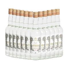 58°金门高粱酒白金龙整箱600ml(12瓶装)