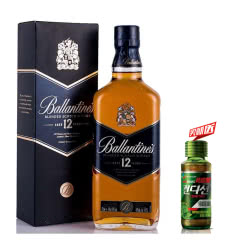 40°英国(Ballantine's)百龄坛12年苏格兰威士忌进口洋酒700ml