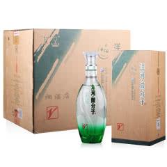 33.8°洋河蓝色经典微分子大v绵柔浓香型白酒500ml*4 整箱装