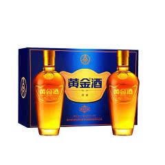 39° 五粮液 黄金酒万福礼盒装480ml(2瓶装)