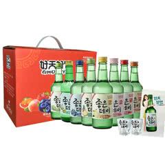 好天好饮清新水果味配制酒  洋酒 礼盒套装 360ml*8瓶