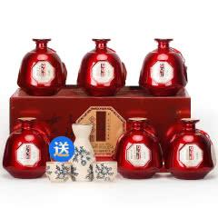 【送酒具】绍兴黄酒女儿红花雕酒整箱礼盒500mlx6坛 糯米老酒月子酒低度女士酒颜值古风酒