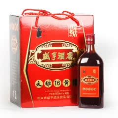 绍兴黄酒咸亨酒店太雕十六太雕酒整箱礼盒500mlx4瓶装糯米酒甜酒