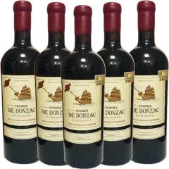 法国原瓶进口龙船拓金者干红葡萄酒750ml(6瓶装) 蜡封瓶口