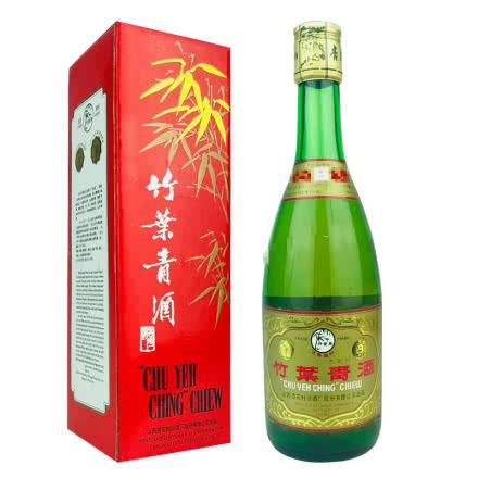 融汇老酒 45º竹叶青酒红盒500mlx1瓶 (2001年)