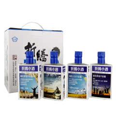 45°泓誉折腾小酒原浆酒汾酒产地清香型白酒礼盒装125ml (4瓶装)