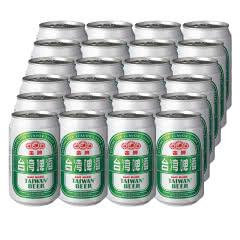 台湾啤酒 金牌 330ml*24听(新品)