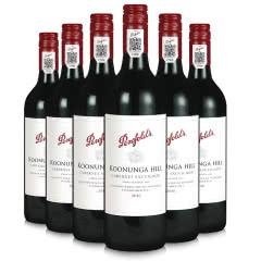 澳洲进口红酒 奔富Penfolds寇兰山 14.5° 干红葡萄酒 整箱750mlx6