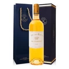 法国原瓶进口拉菲甜白葡萄酒波尔多苏玳产区莱斯古堡副牌 2009年(莱斯珍宝)750ml